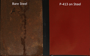 P-413 steel hydrogen sulfide exposure test results